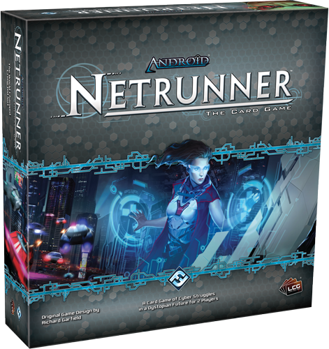 Caja de la nueva edición de Netrunner